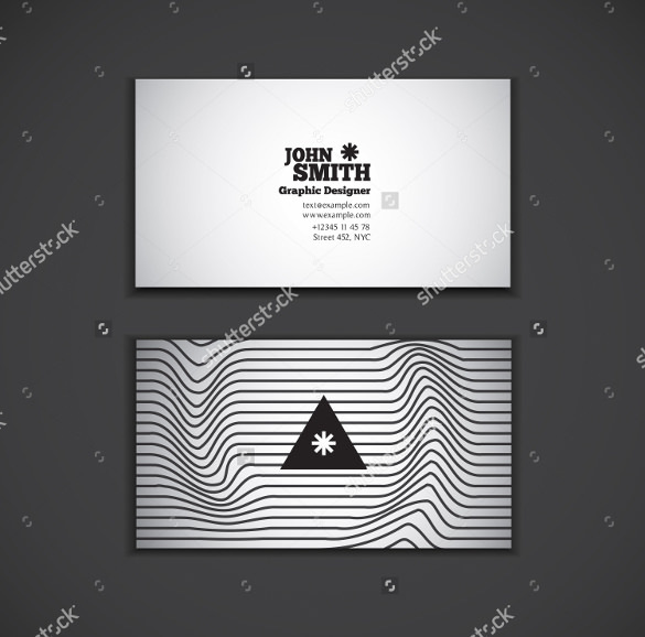 Black and White Cool Business Card Download