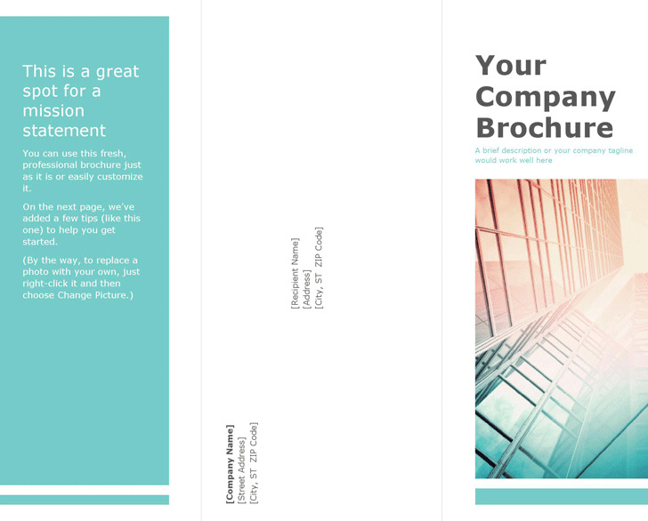 pop up brochure template - blank brochure template download free premium