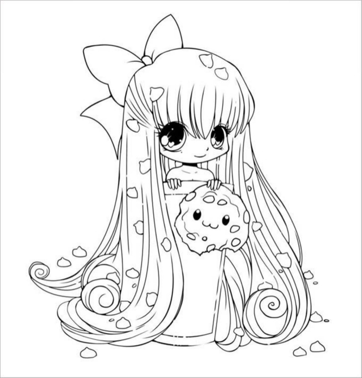 Printable Chibi Templates  Colouring Pages  Download Free