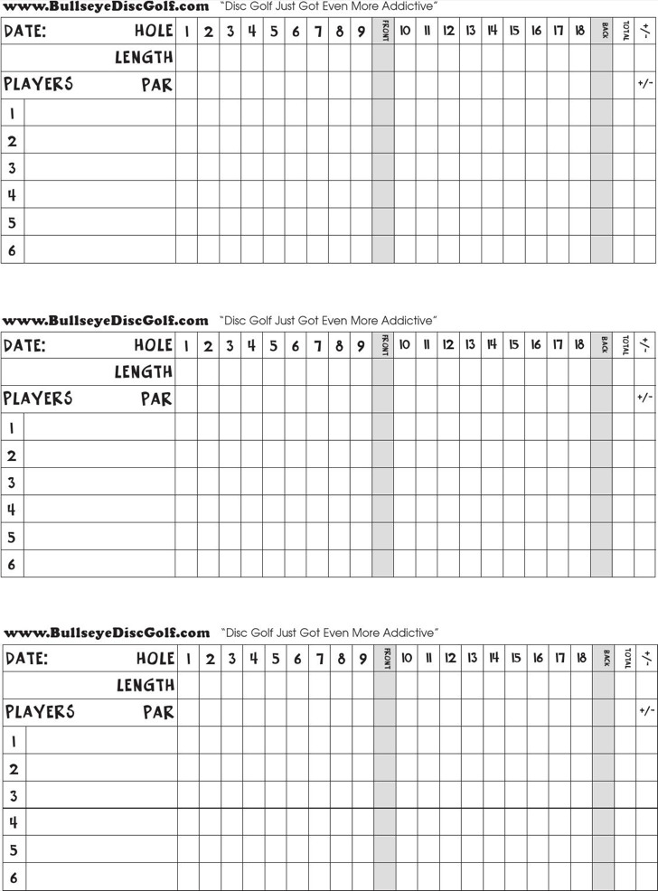 Golf scorecard templates download free premium for Blank scorecard template