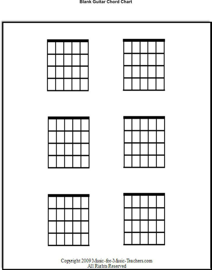 Guitar Chord Chart Templates Download Free Premium Templates