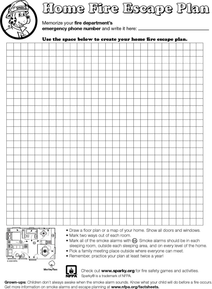 Home Evacuation Plan Templates | Download Free & Premium Templates