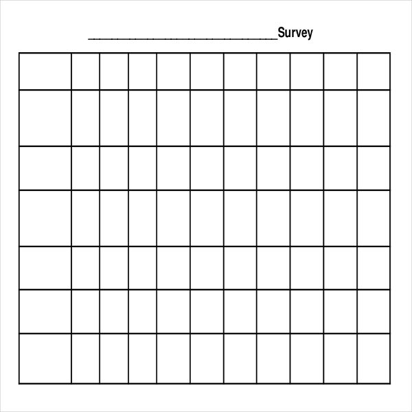 Blank Survey Templates | Download Free U0026 Premium Templates, Forms