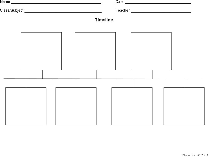 Blank Timeline Template | Download Free & Premium Templates, Forms