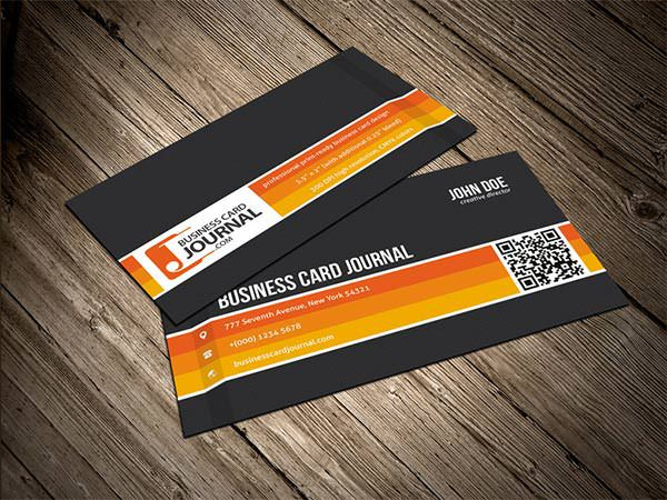Bold Business Card Template