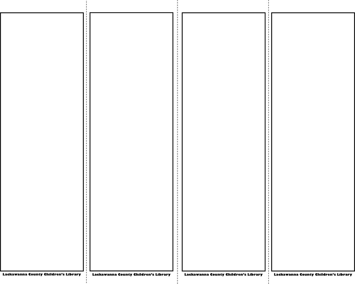 bookmark template 1