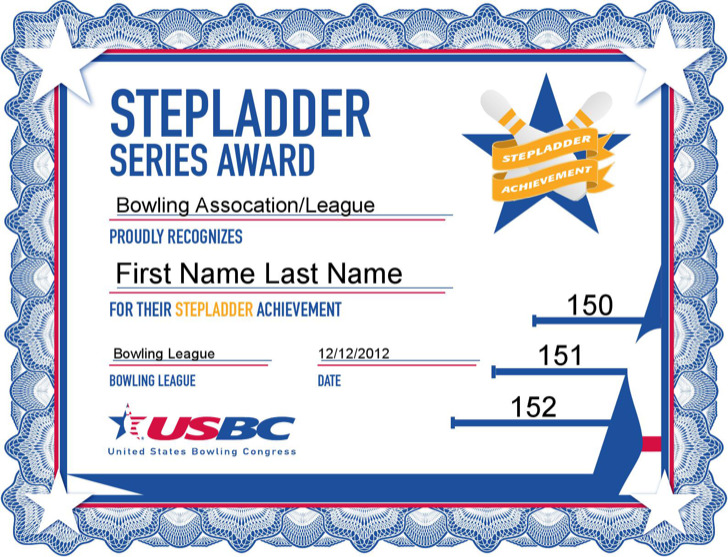 Bowling certificate template download free premium for Bowling certificates template free