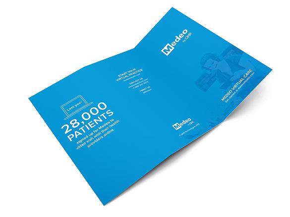 Branding & Design For Medeo Brochure