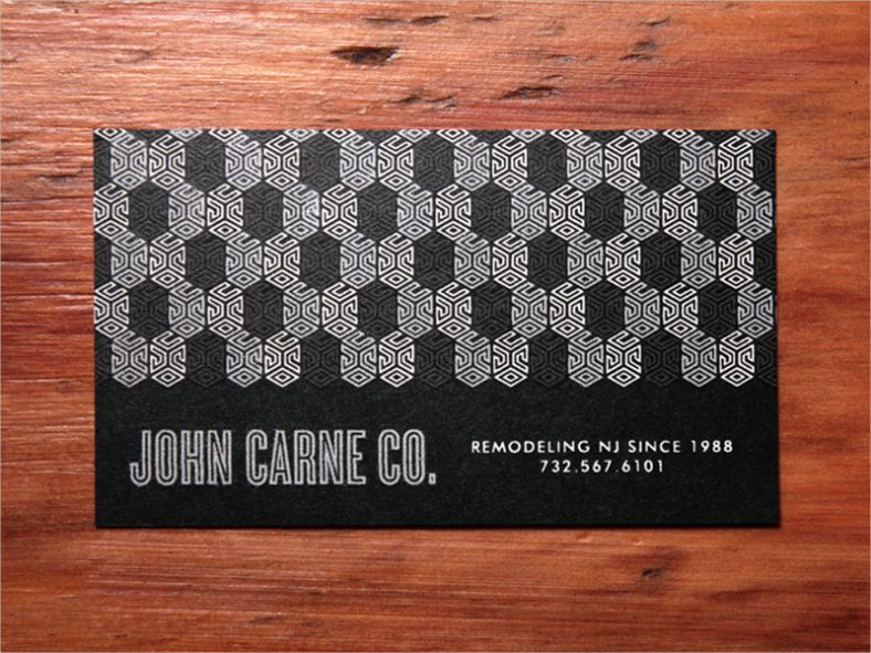 Branding Construction Business Card