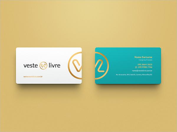 Branding Fashion Business Card Template