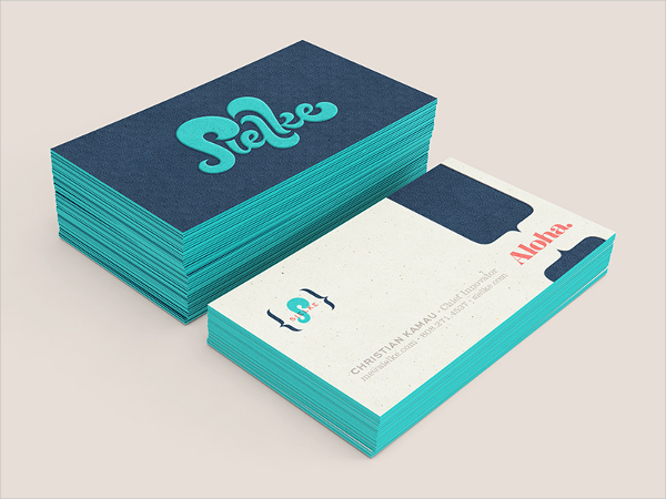 Branding Funky Business Card