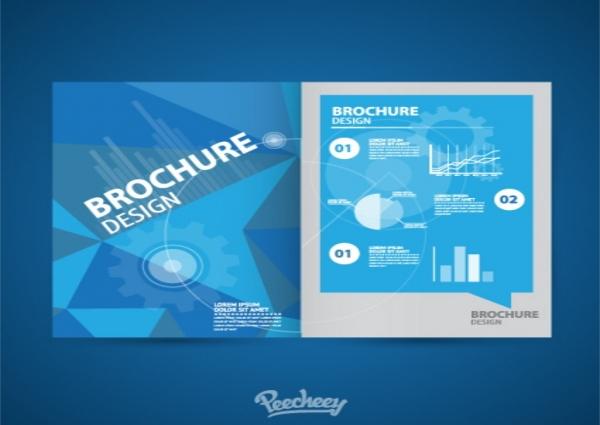 Brochure Blue Style Template