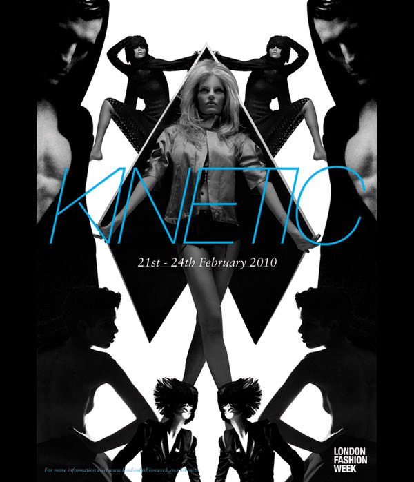 Brochure for Kinetic Fashion Festival