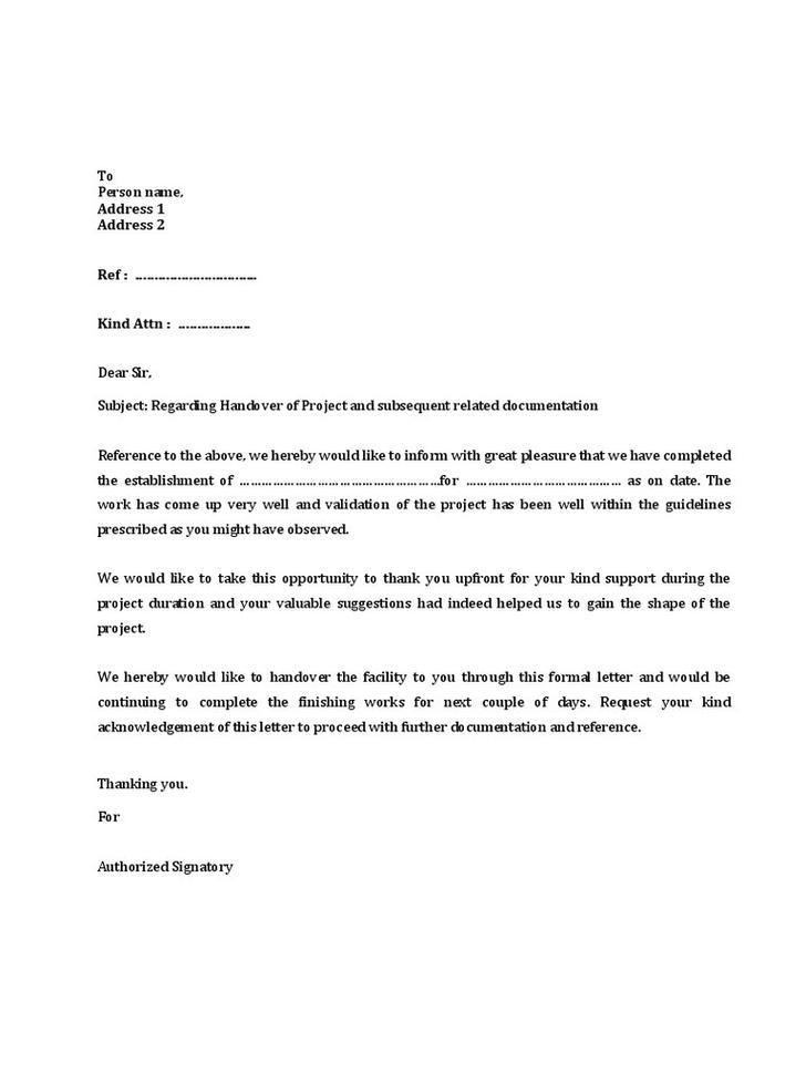 Building Inspection Handover Report