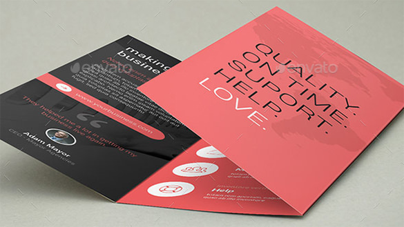 Bundle Clean - Trifold Corporate Brochures