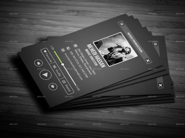 Bundle Music Business Card