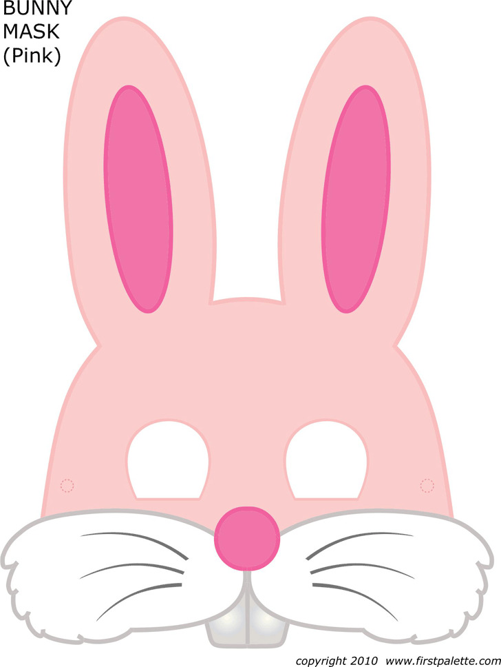 Bunny Face Template 1