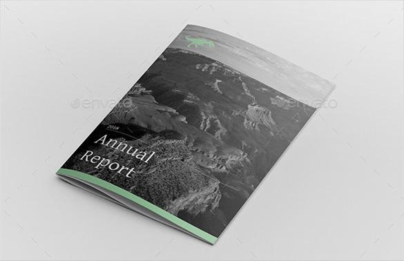 Business Annual Report Template