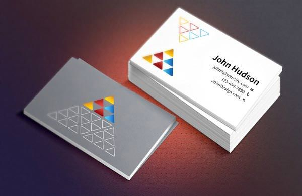 Business Card Template & Mockup