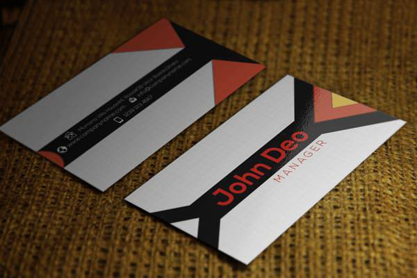 Business card Template Psd Download