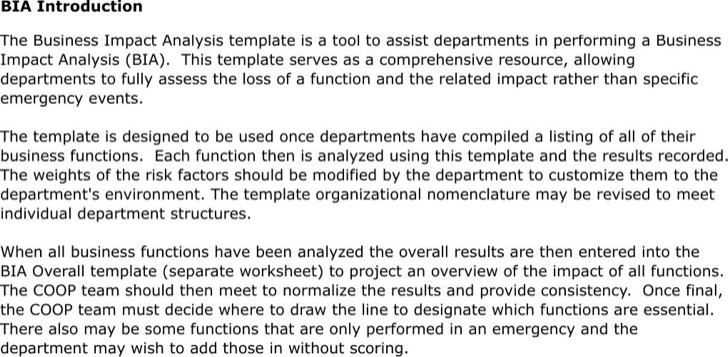 Impact Analysis Templates  Download Free  Premium Templates Forms