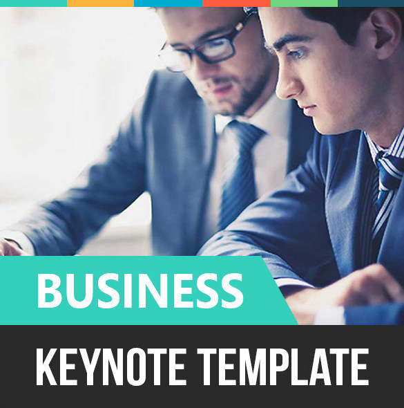 Business Keynote Template Key File - $15