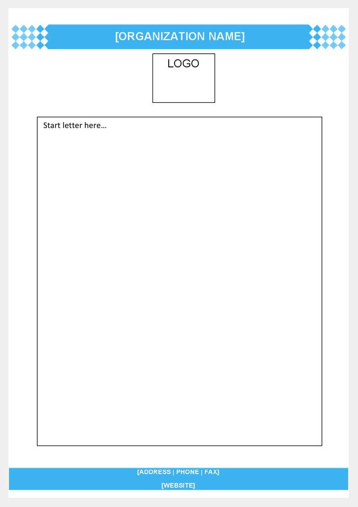 Business Letterhead Template 3