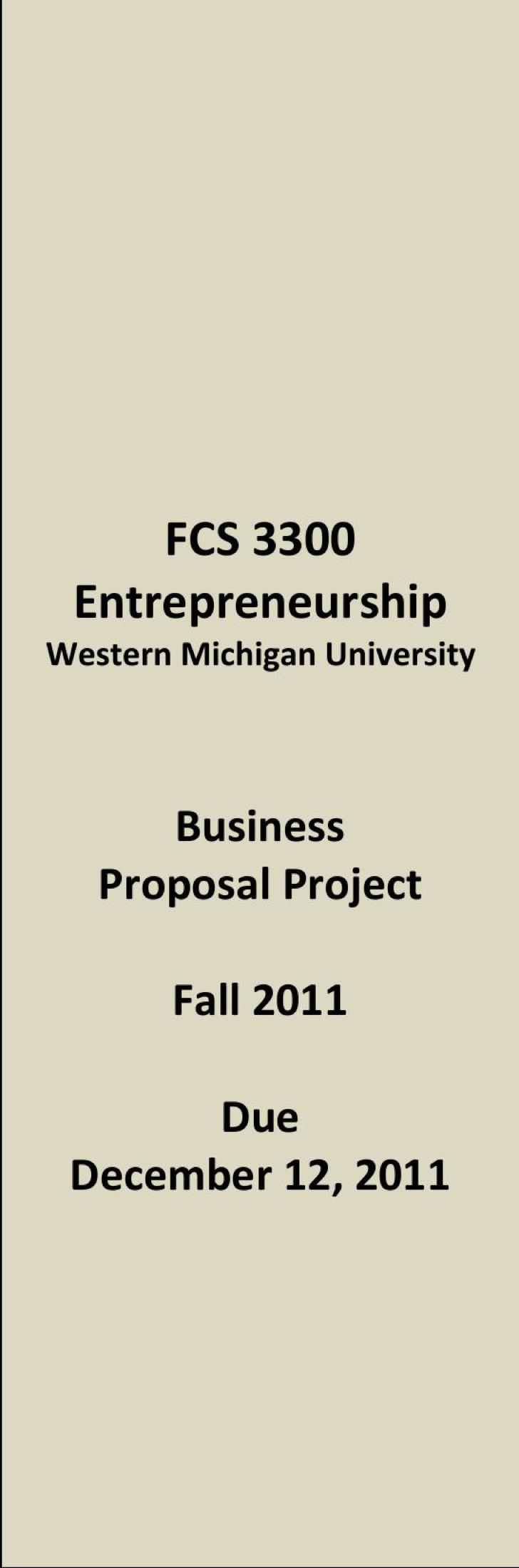 Business Marketing Proposal Pdf Format