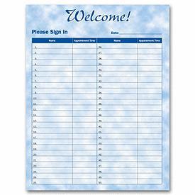 Business Meeting Attendance Sheet Template