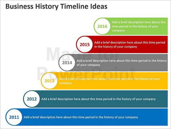 Business Timeline Template  Download Free  Premium Templates