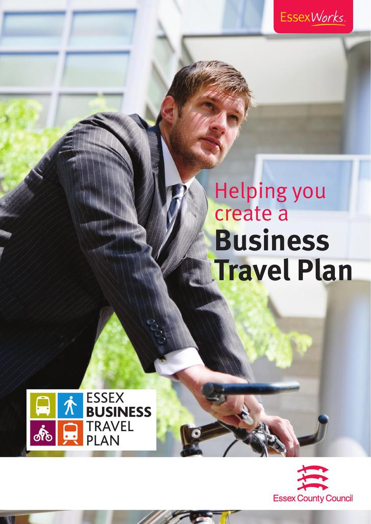 Business Travel Plan Free Document