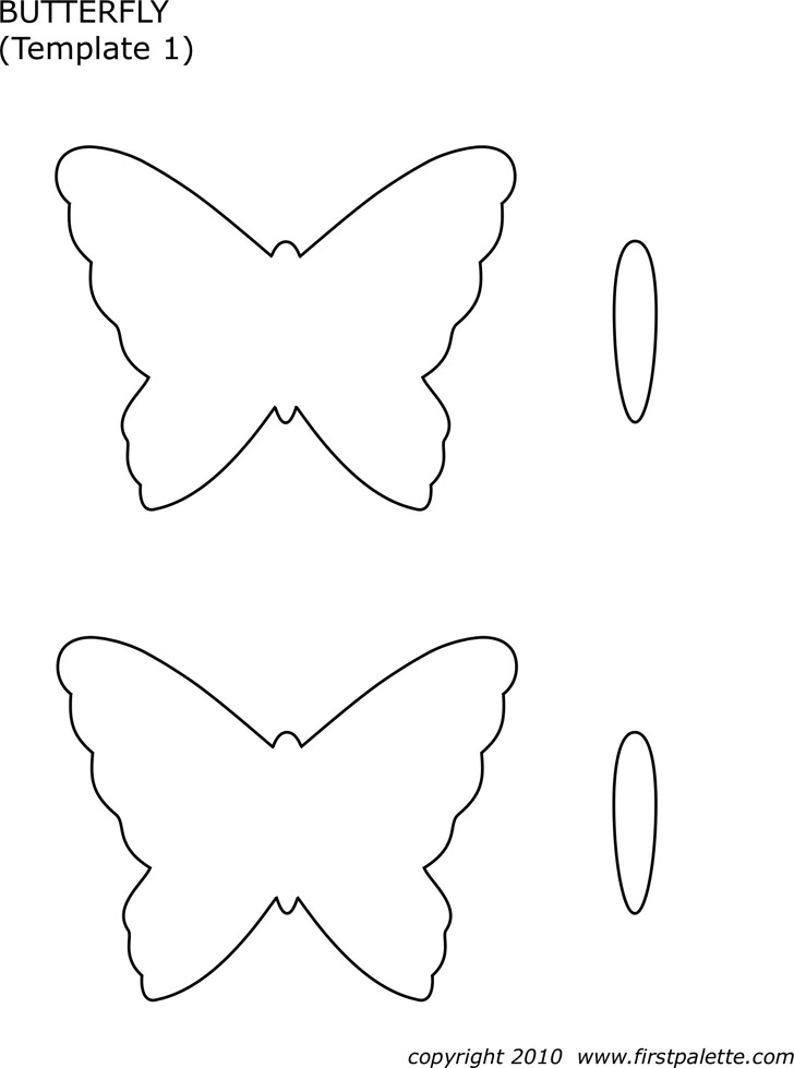 Butterfly Template | Download Free & Premium Templates, Forms