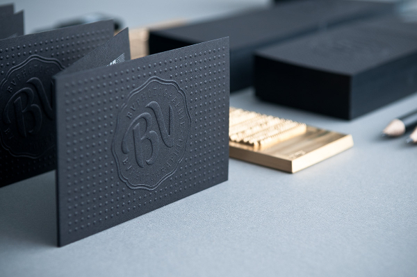 BV Photographie Business Card Design