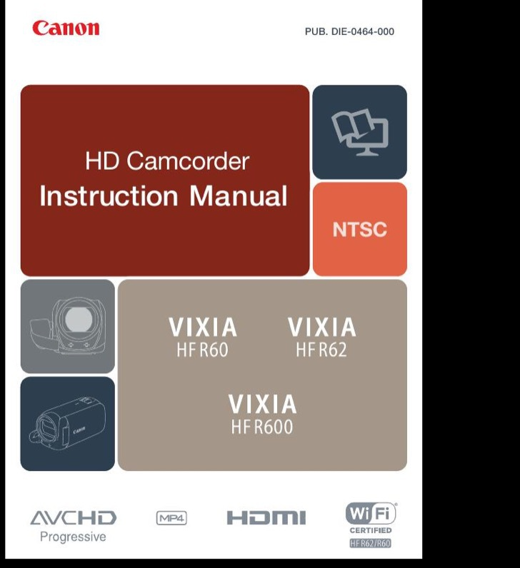 Canon Instruction Guide Sample