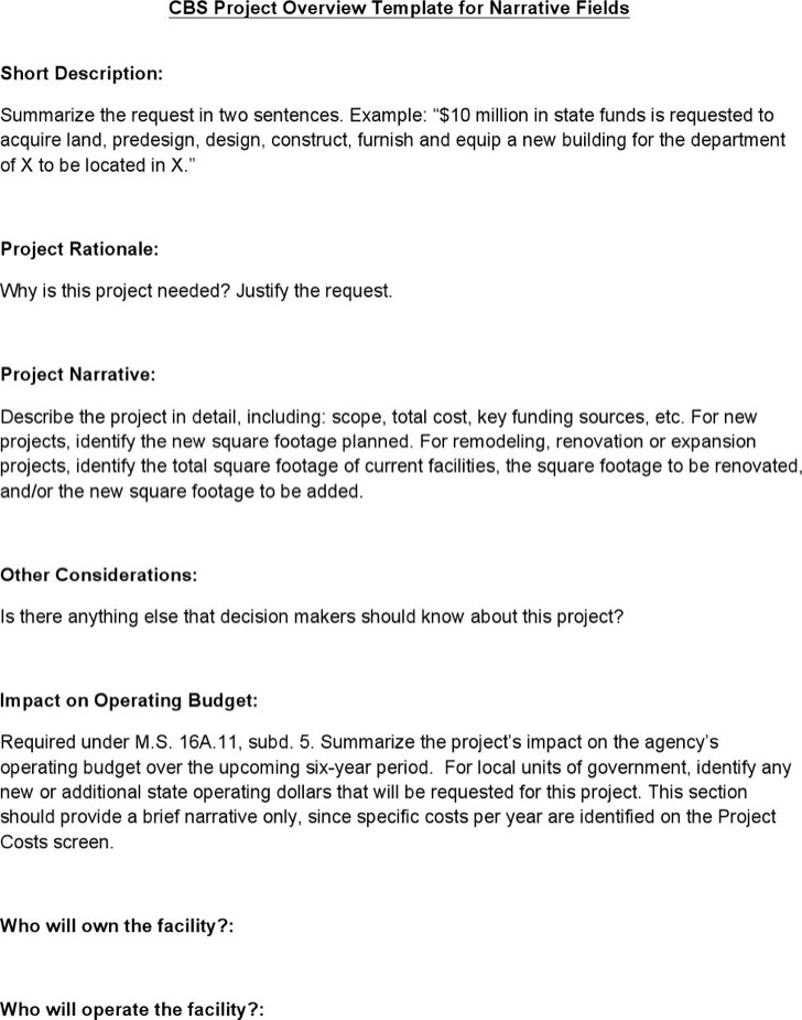 Capital Budget Project Overview