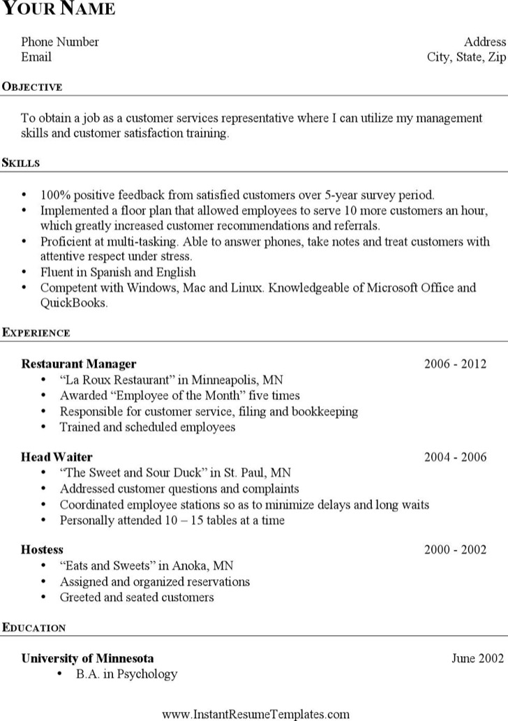 simple resume template download free premium templates forms - Career Change Resume Template