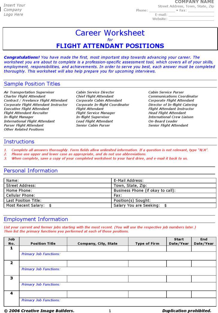 Sample Flight Attendant Cover Letter  Free Documents In Pdf Word