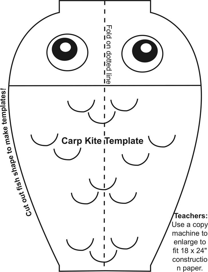 Carp-Kite-Template