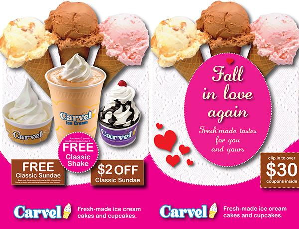 Carvel Sample Coupon Book Template