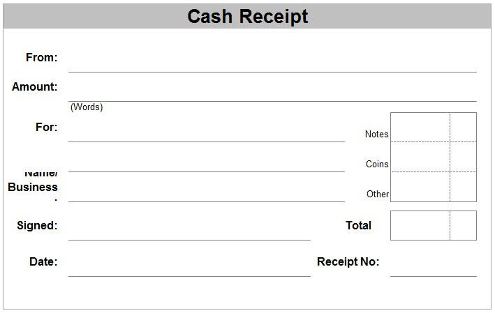 Cash Voucher Template Free Doc Format  Cash Voucher Template