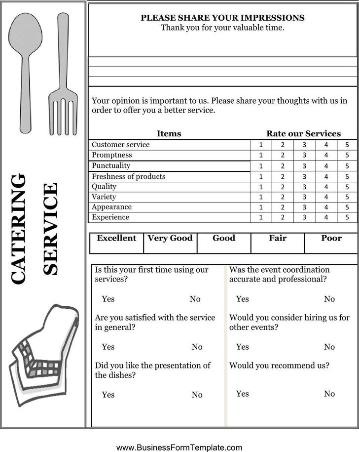 Comment Card Template  Download Free  Premium Templates Forms