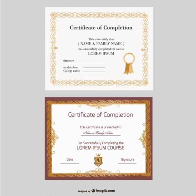 Certificate Template For Free Download