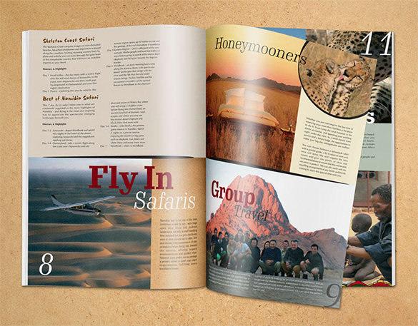 Chameleon Holidays & Travel Brochure