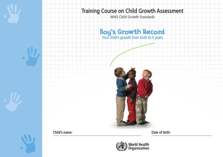 Chart For Boys Growth Record Template