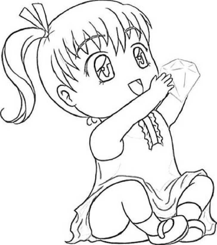 Chibi Template Drawing