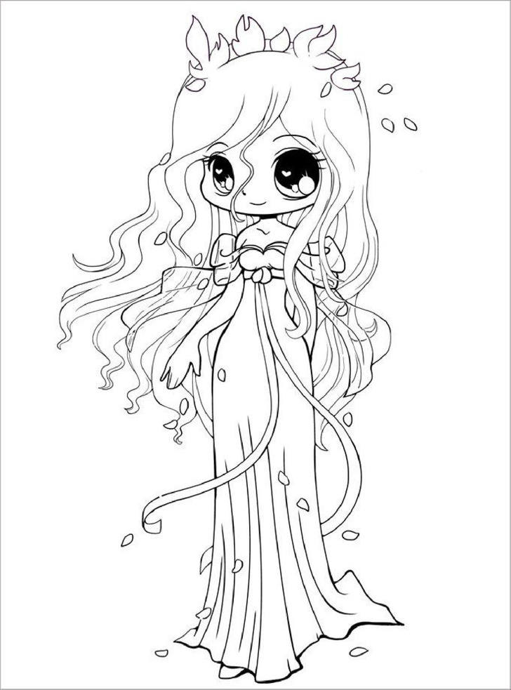 Printable Chibi Templates & Colouring Pages | Download Free ...
