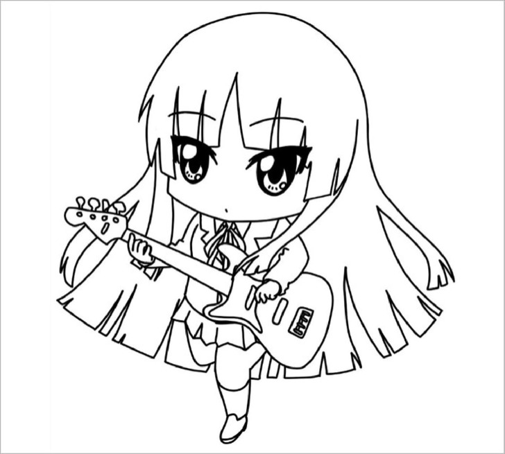 chibi template app - printable chibi templates colouring pages download