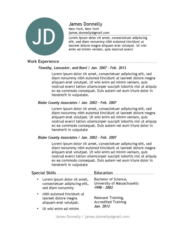 chicago resume template download free premium templates forms samples for jpeg png pdf. Black Bedroom Furniture Sets. Home Design Ideas