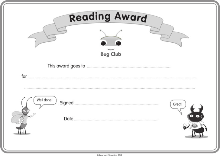 Reading certificate templates download free premium templates childrens reading certificate template yadclub Gallery