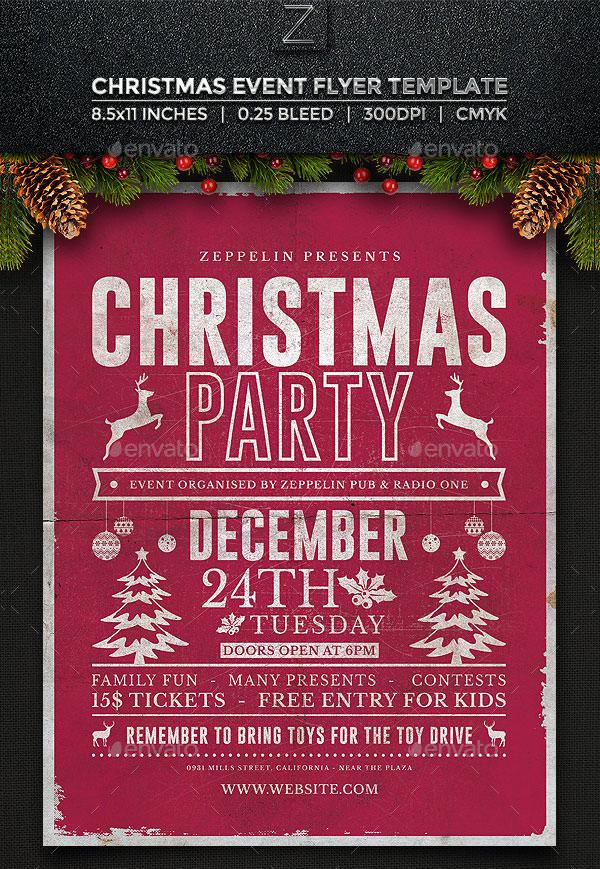Christmas Flyer Templates  Download Free  Premium Templates